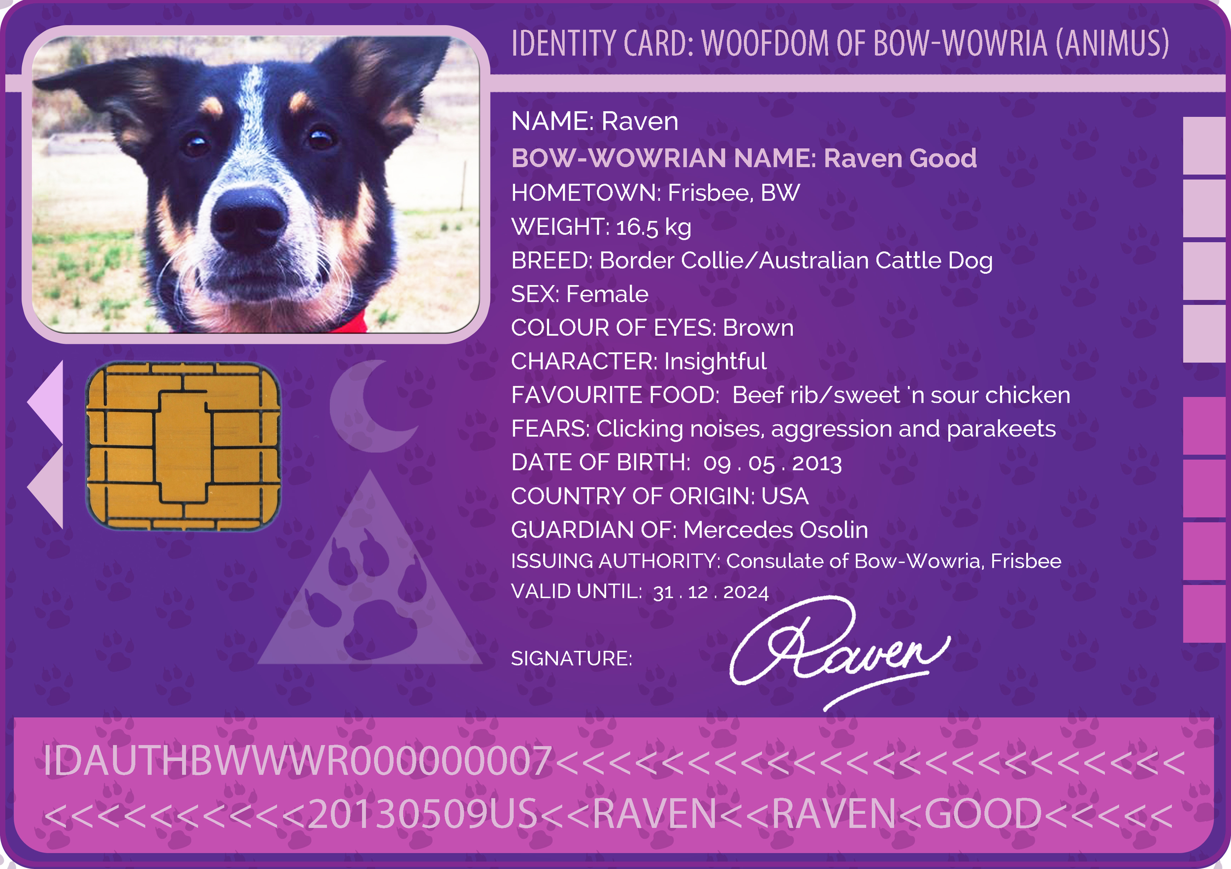 Raven Good of Frisbee