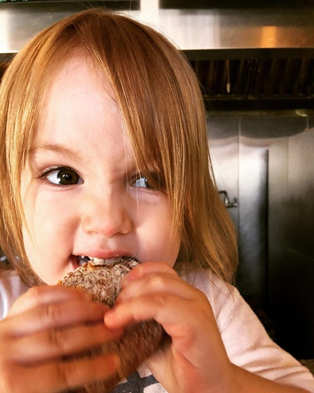 FYI: we make lil baby bagels to feed your lil baby- just ask the cashier and they'll hook it up!
