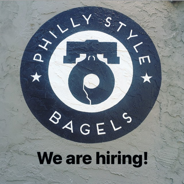 Know anyone that loves bagels as much as we do? Tell all your friends - we are looking to add a few passionate people to our team. Looking for bakers, prep cooks, and sandwich artists. Send resumes to phillystylebageljobs@gmail.com