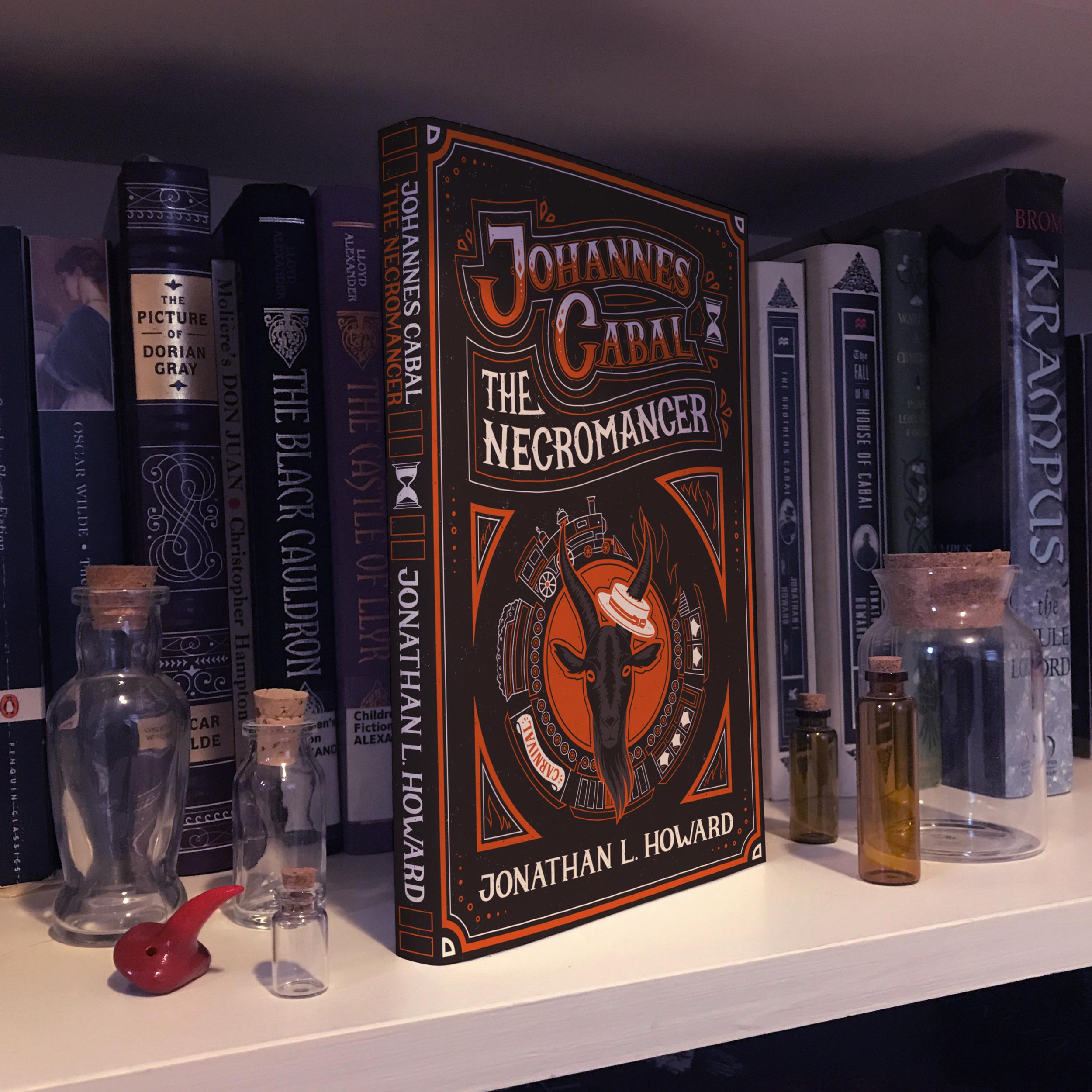 Johannes Cabal the Necromancer Book Cover