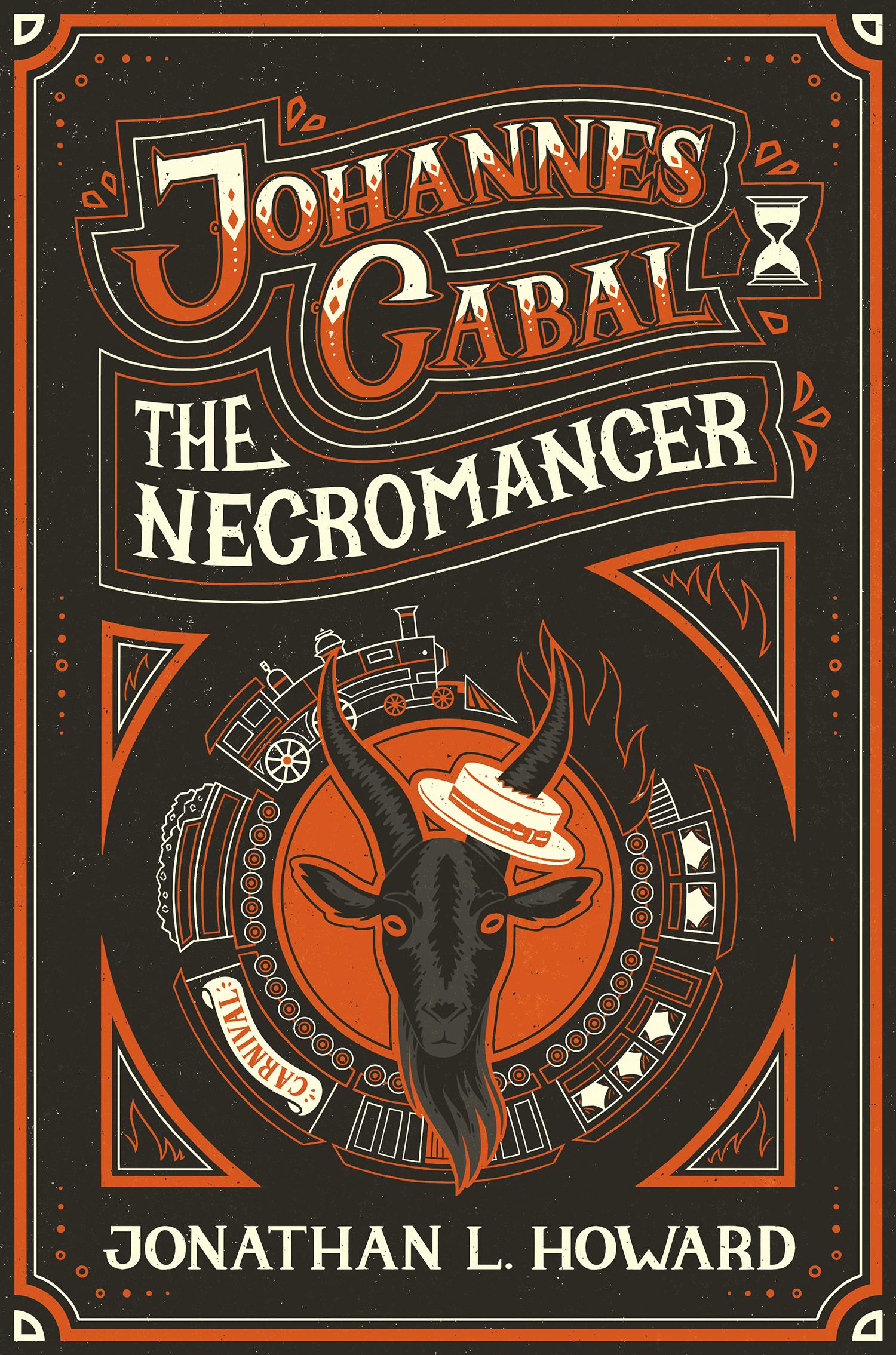 Johannes Cabal Book Cover