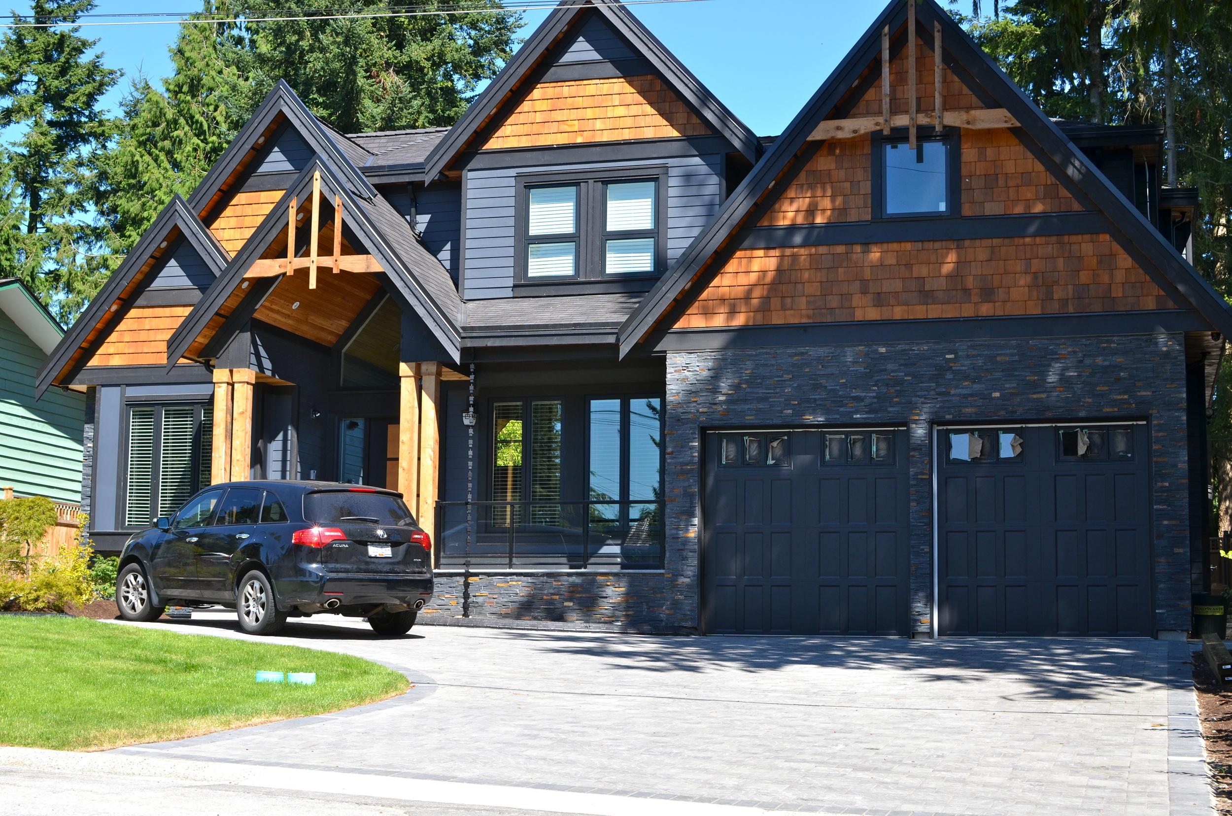 Exterior home designers Vancouver