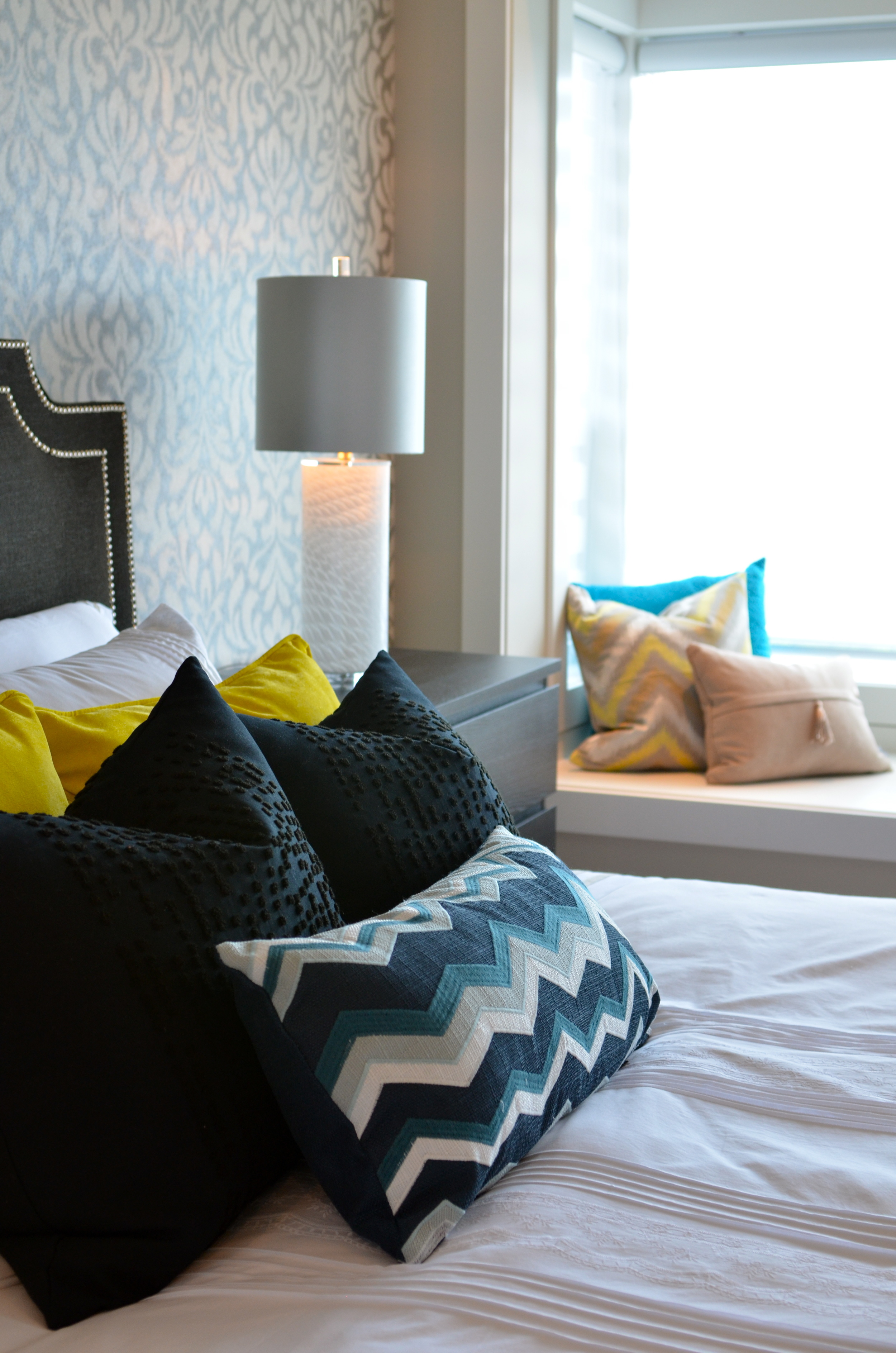 Bedrooms by interior designers in vancouver