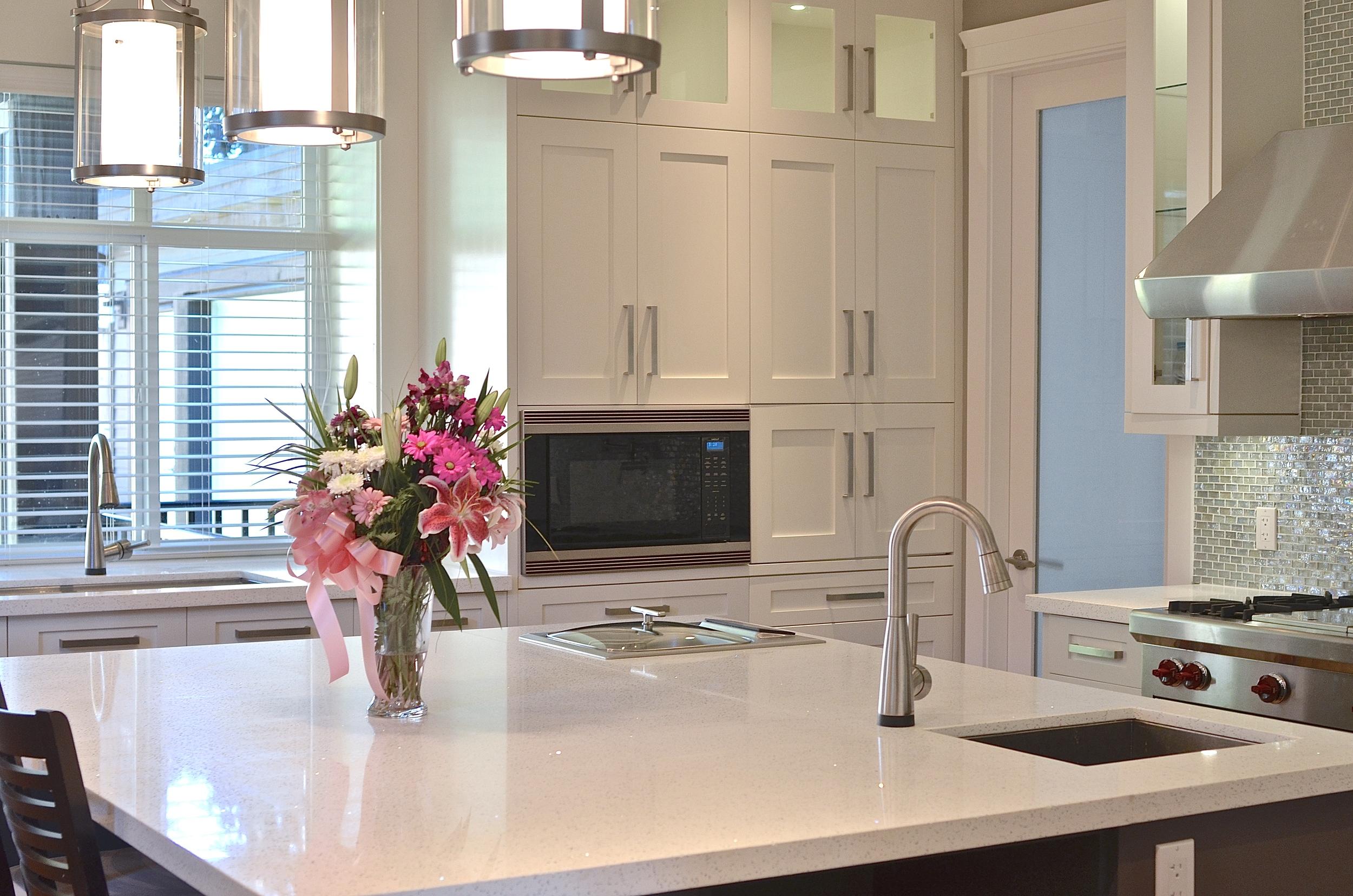 White kitchen designers in vancouver