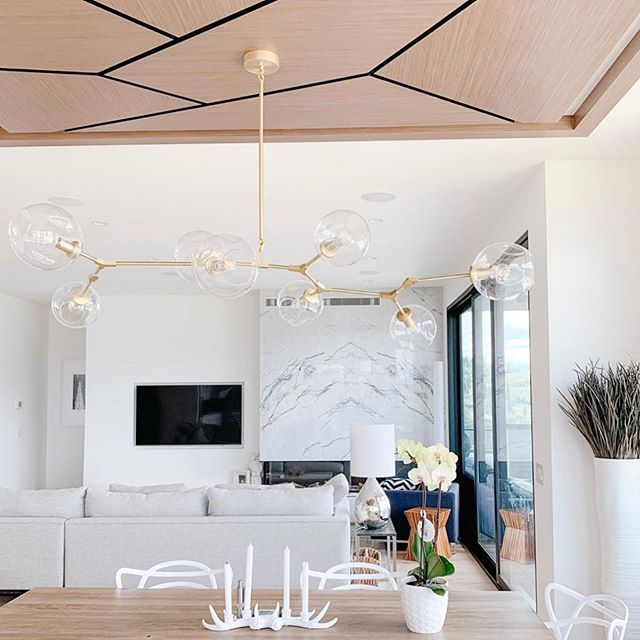 Here's a finished photo of the custom millwork ceiling panel we designed for one of our Kelowna clients! Thanks @demi.vegan for the 📷 . . . . . . #accentrixdesign #custommillwork #millwork #interiordesign #interiordesigner #yvrdesign #vancouverinteriordesigner #interiors #customhomes