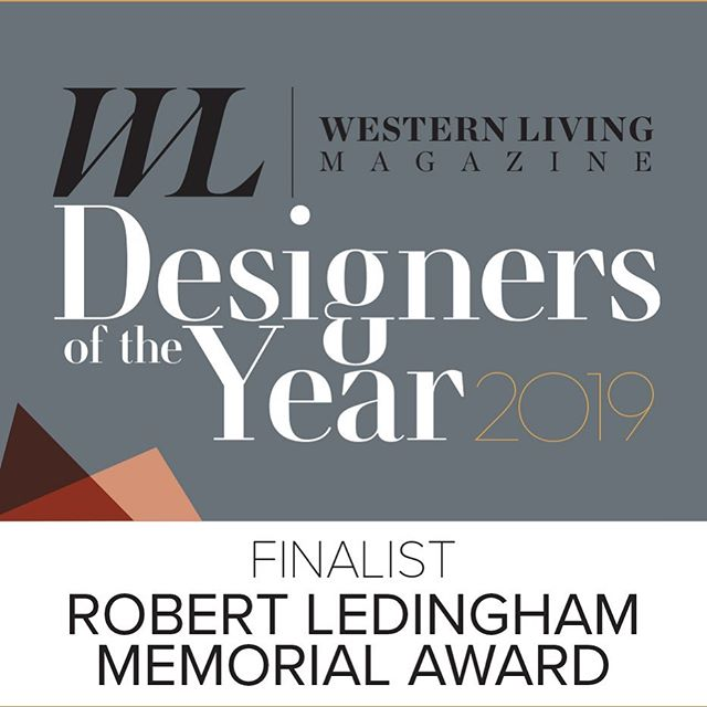 We are overjoyed to announce that we have been nominated for the @westernliving Robert Ledingham Memorial Award. Thank you to all of our amazing clients over the years who have trusted us with their projects and allowed us to add our creative flair to their homes! #thankful . . . . . . . . . . #interiordesign #yvrdesign #vancouverinteriors #vancouverinteriordesign #interiordesigner