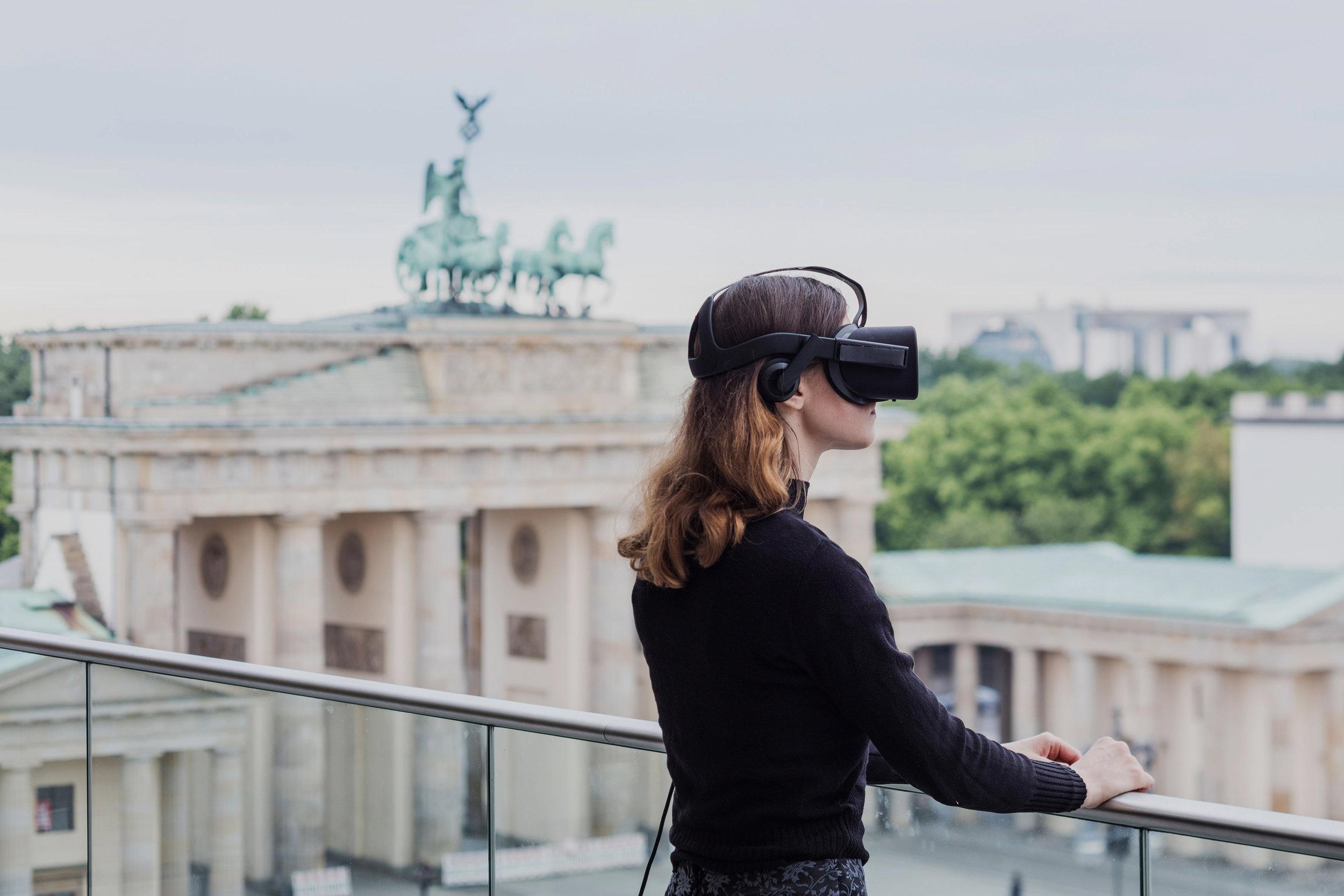 View of Pariser Platz  —  VR Installation Berlin Biennale,  2016  Client  —  Jon Rafman Studios