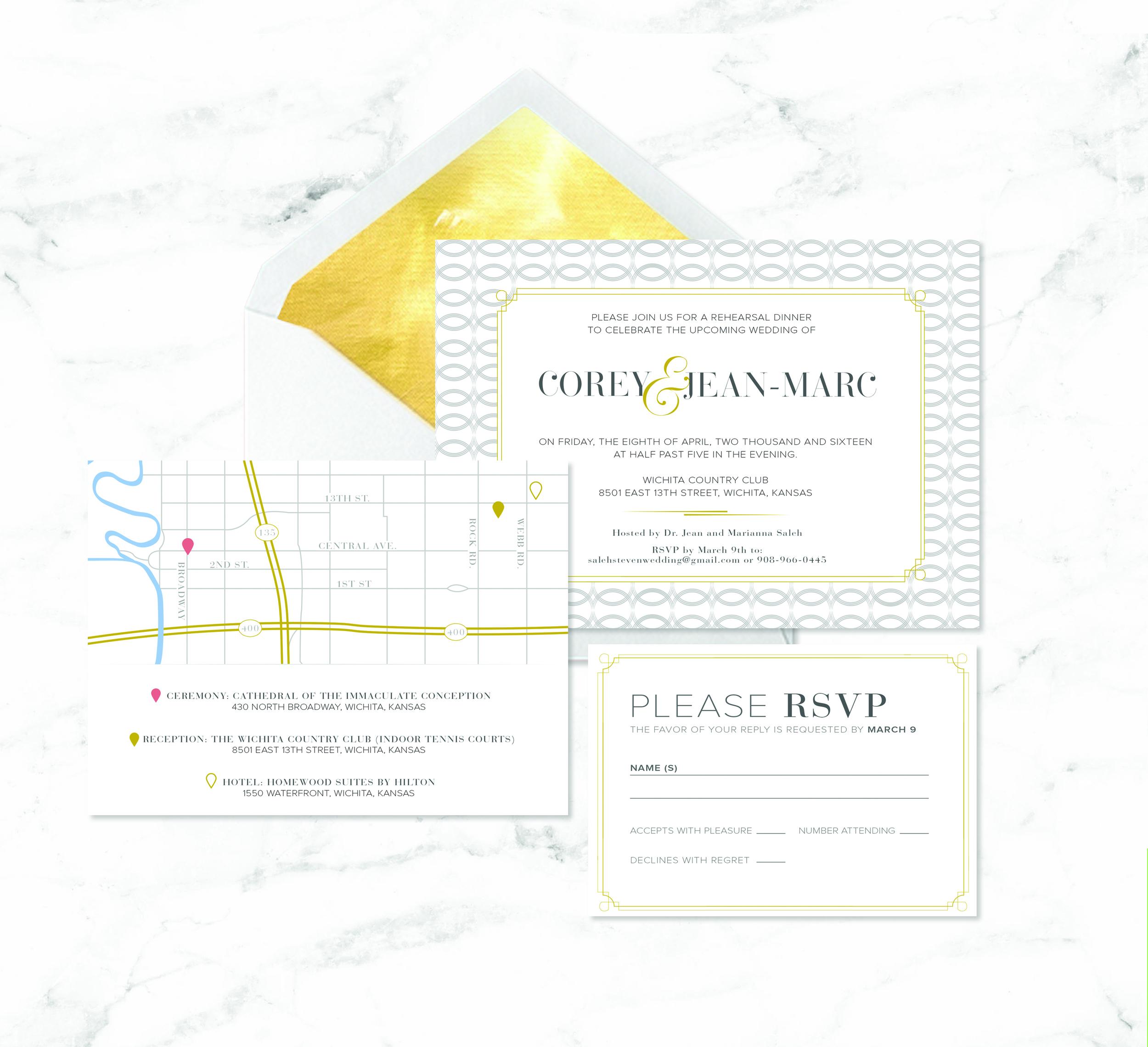 GOLD WEDDING SUITE