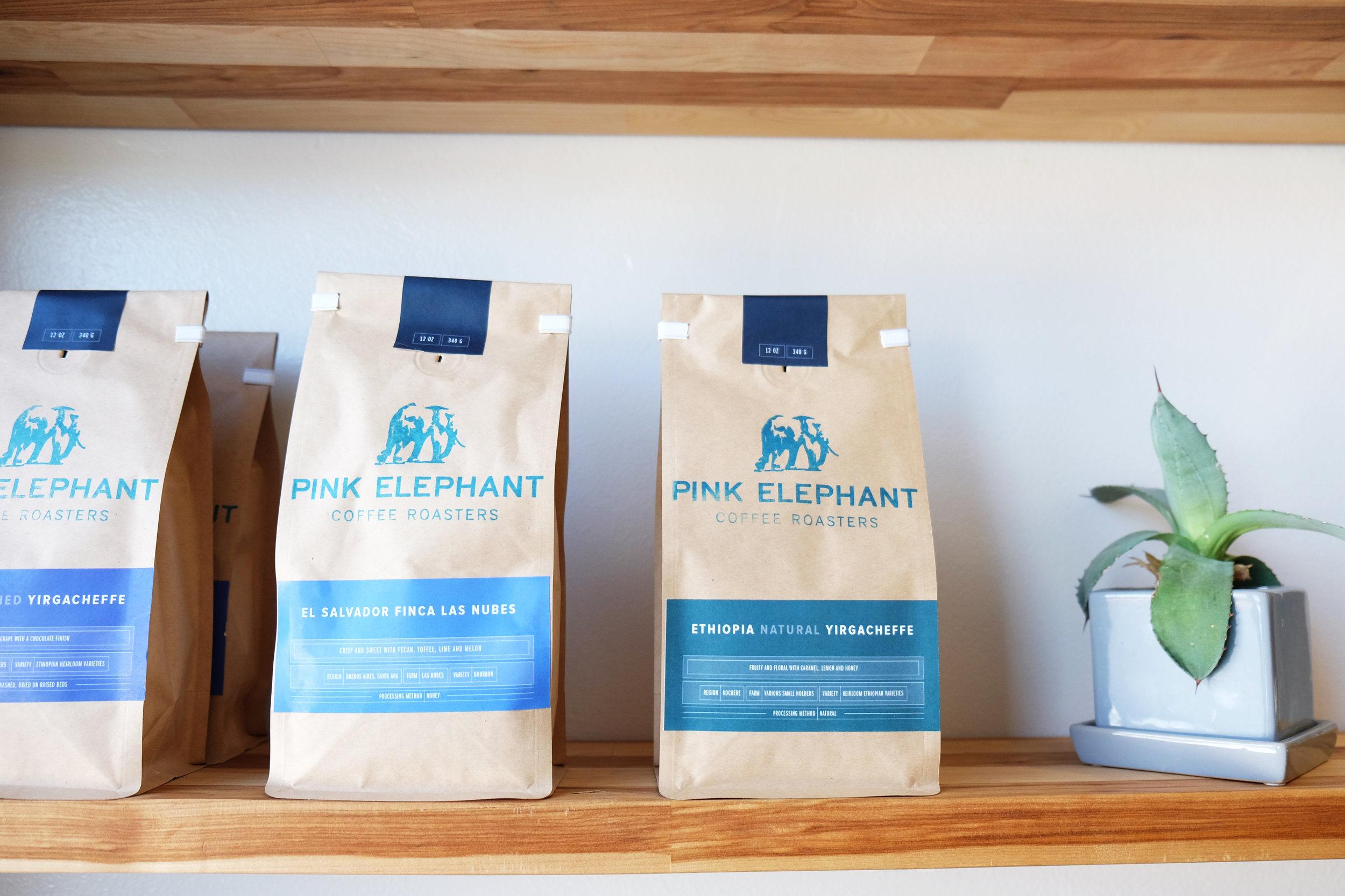 PINK ELEPHANT COFFEE