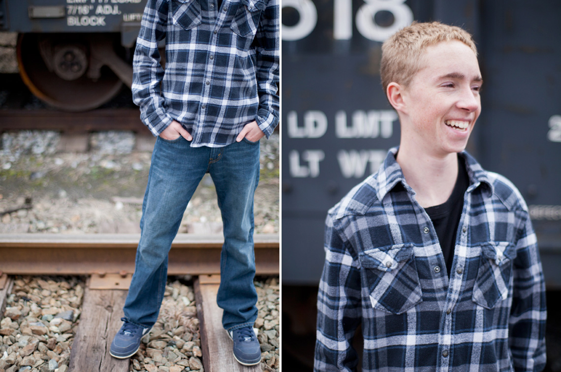 5-Senior-Portrait-Photography-Ken-Bruggeman-York-PA-Young-Man-Laughing-Near-Train.jpg