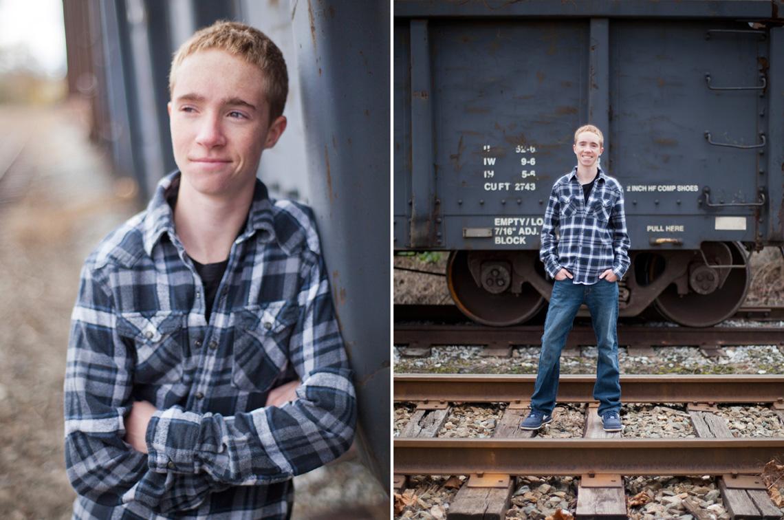 6-Senior-Portrait-Photography-Ken-Bruggeman-York-PA-Young-Man-Standing-Blue-Train.jpg