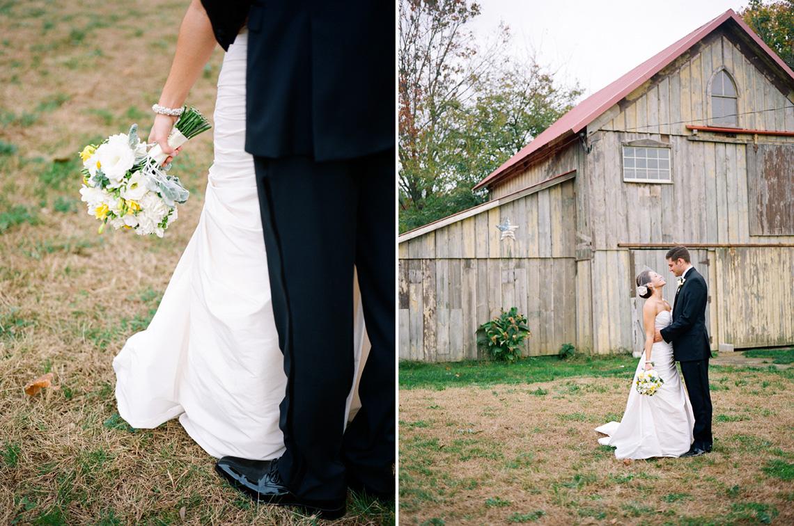 15-Ken-Bruggeman-Photography-Wedding-Photographer-York-PA-Husband-Bride-Standing-Barn-Flowers.jpg
