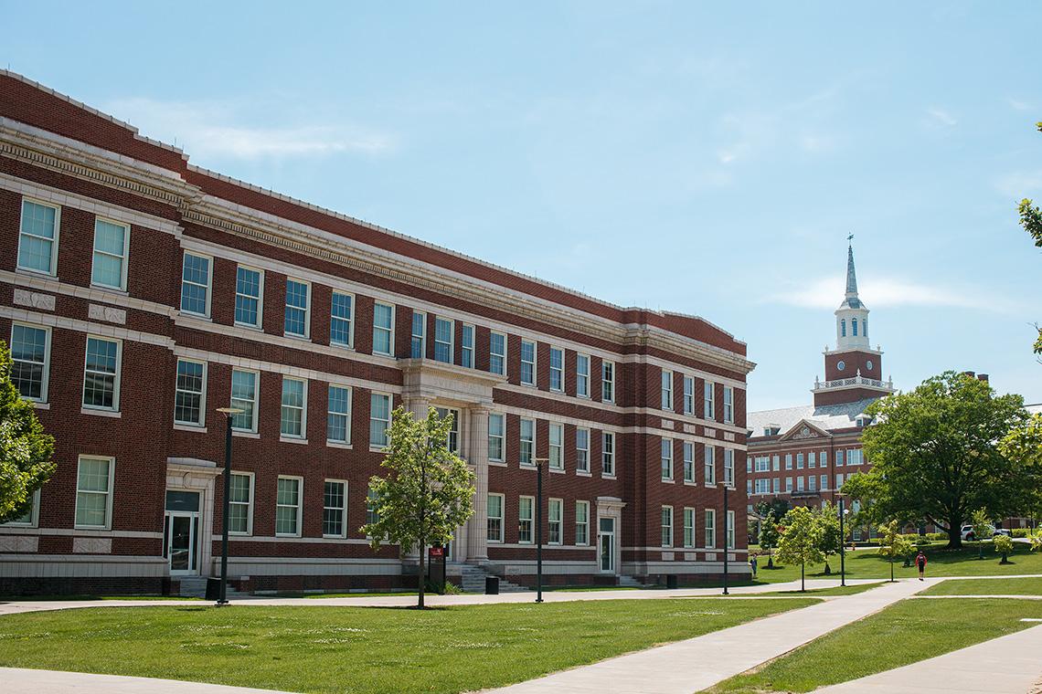 4_University_Cincinnati_Main_Hall_Exterior_Campus_Walking_Parths_Ken_Bruggeman_Photography_York_PA.jpg