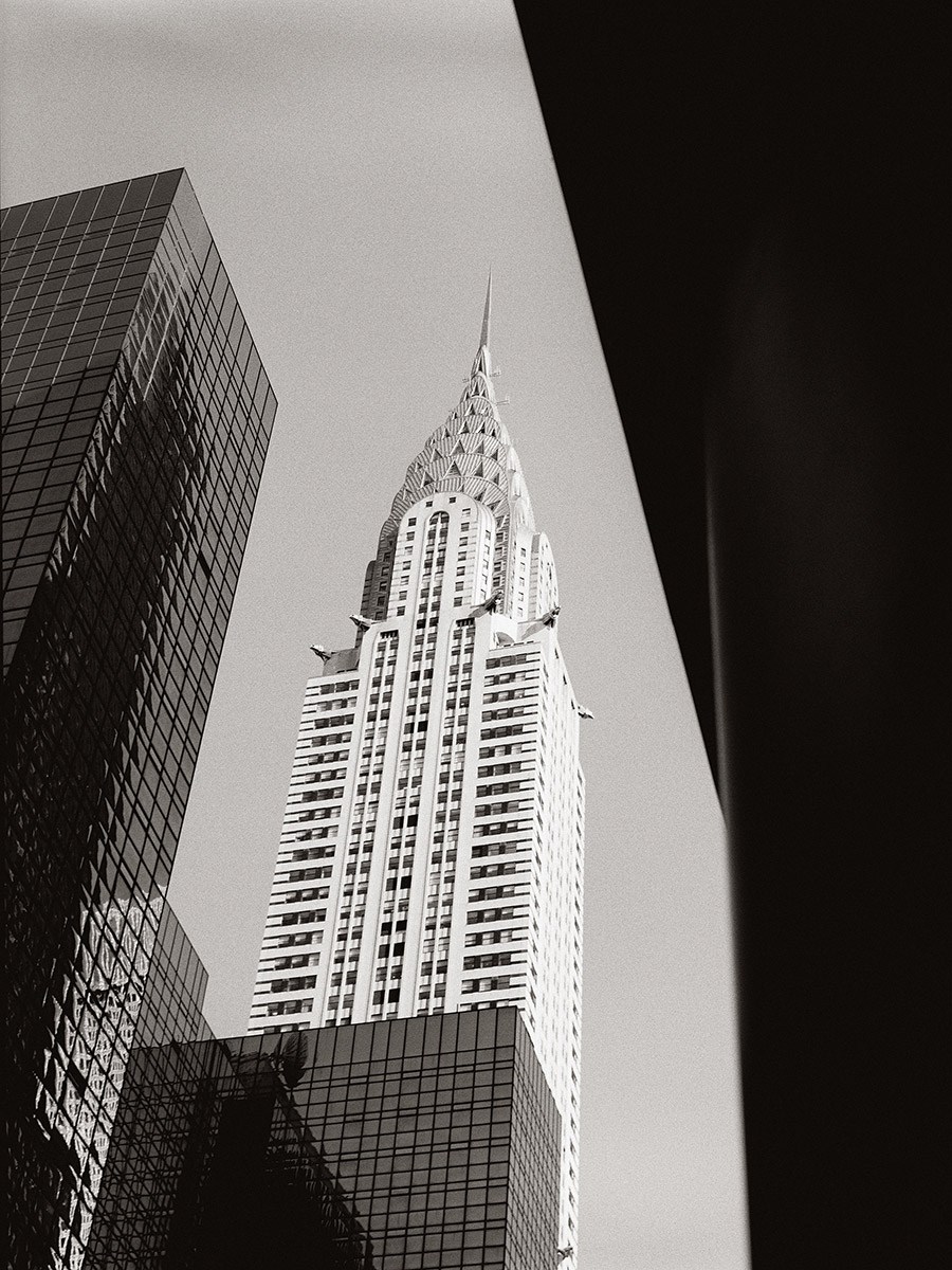 Kodak 400TX - Chrysler Building. New York, NY - 2013  © Ken Bruggeman Photography