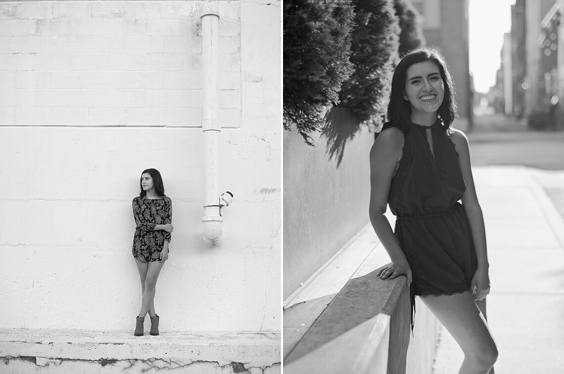 6-York-PA-Ken-Bruggeman-Photography-Senior-Portraits-Black-White-Woman-City-Street.jpg
