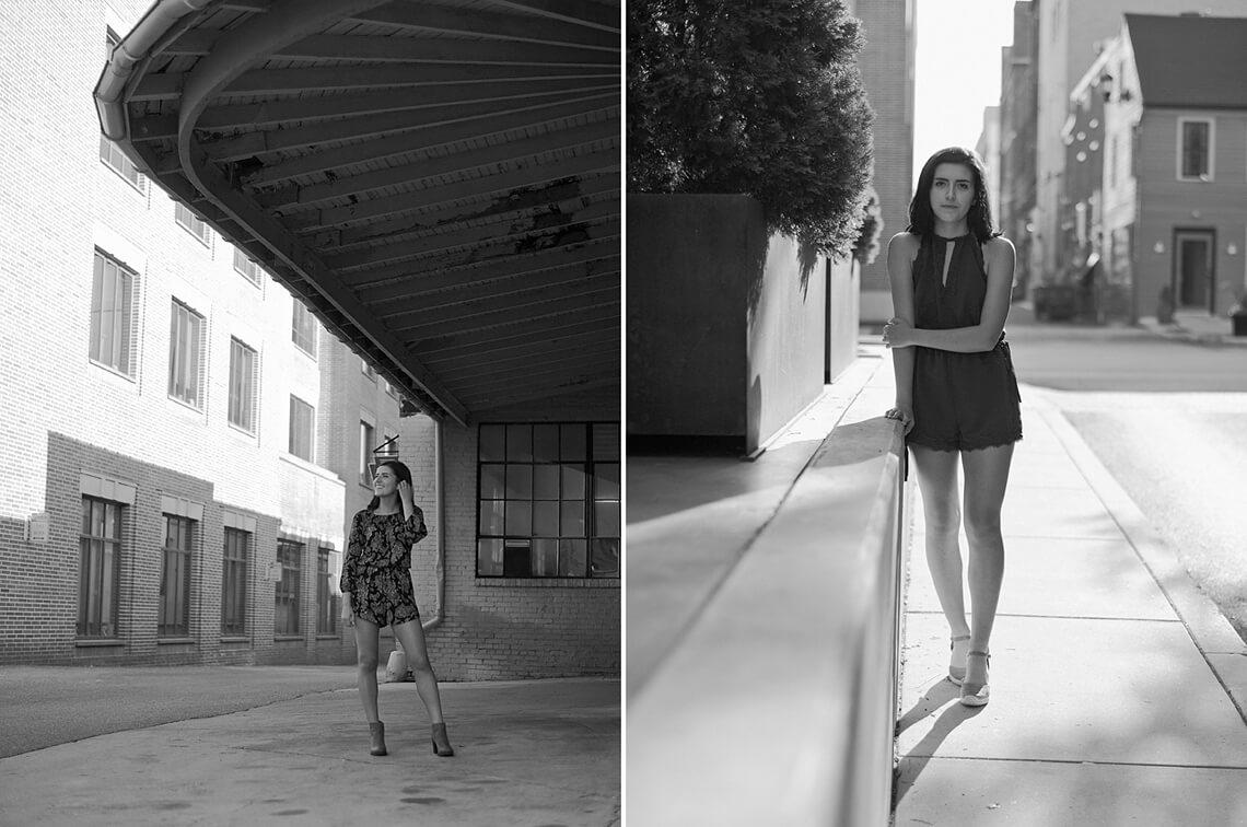 7-York-PA-Ken-Bruggeman-Photography-Senior-Portraits-Young-Woman-Standing-Garage-Overhang.jpg