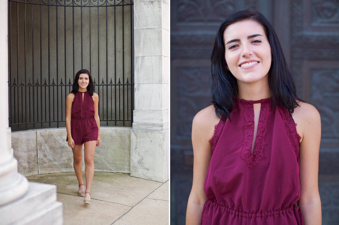 10-York-PA-Ken-Bruggeman-Photography-Senior-Portraits-Young-Woman-Smiling-Decorative-Wrought-Iron-Gate.jpg