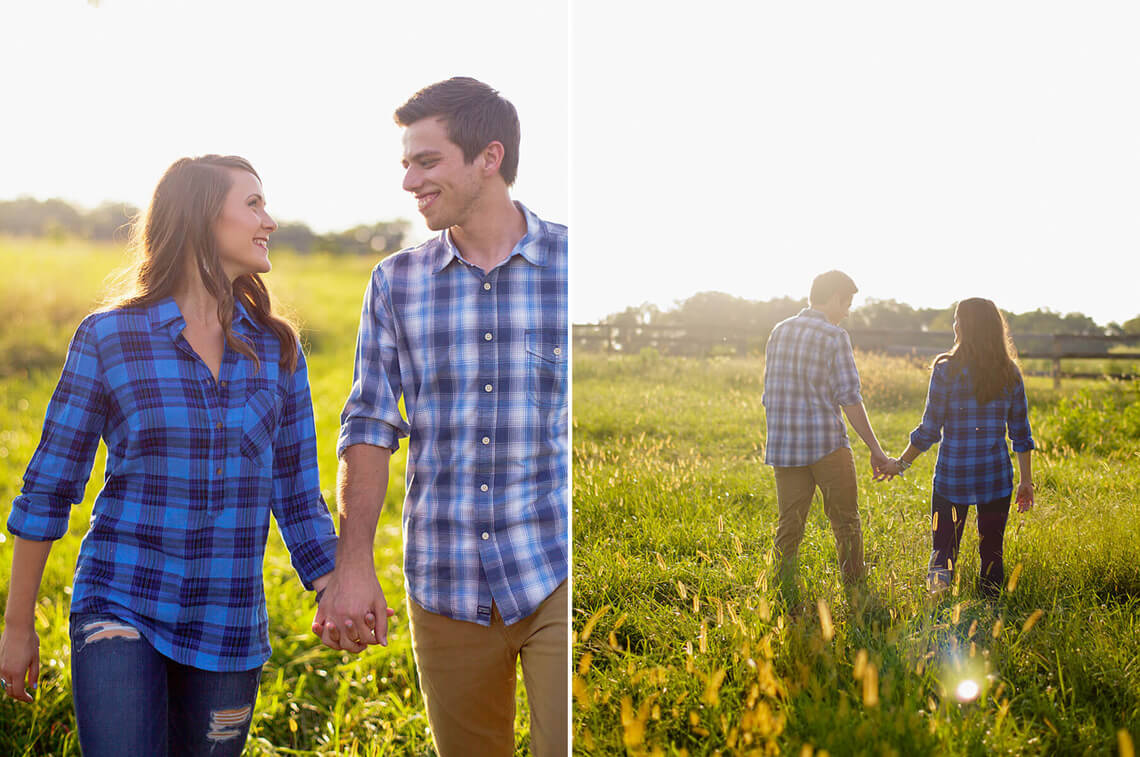 2-Ken-Bruggeman-Photography-York-PA-Engagement-Couple-Walking-Field.jpg