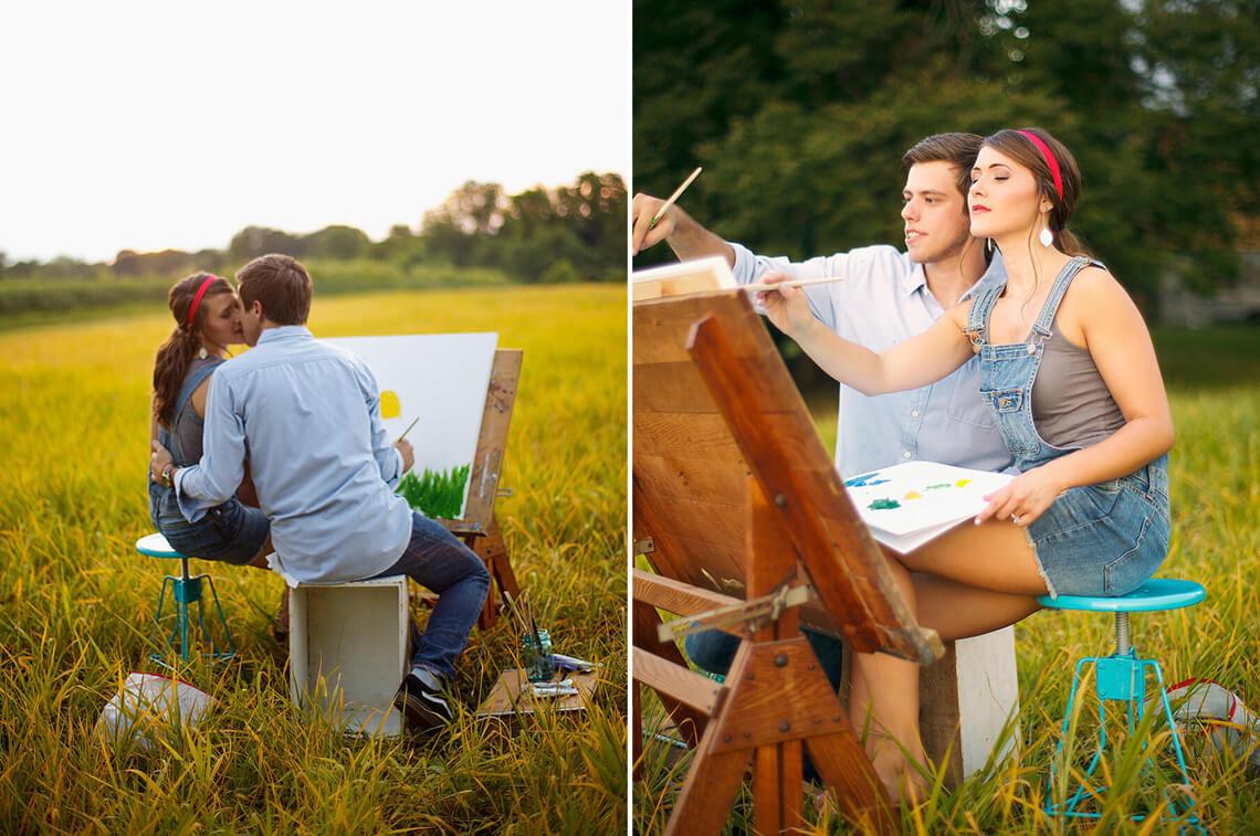 10-Ken-Bruggeman-Photography-York-PA-Engagement-Couple-Painting.jpg