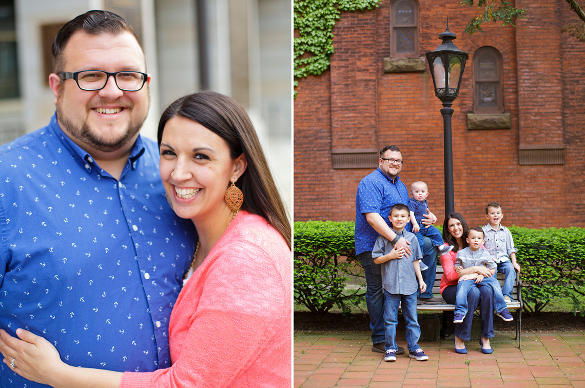 1-Ken-Bruggeman-York-PA-Family-Photography-Martones-Mom-Dad-Embracing-Family-Photo-Brick-Wall.jpg