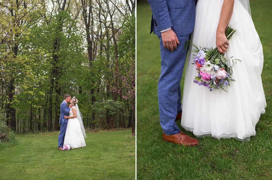 19-Wedding-Ken_Bruggeman-Photography-York-PA-Bride-Groom-Kissing-Trees-Flower-Bouquet-Detail.jpg