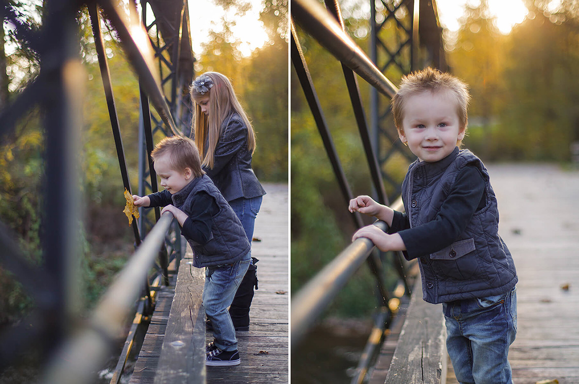 3-Family-Photographer-York-PA-Ken-Bruggeman-Kids-Playing-Bridge-Golden-Light.jpg