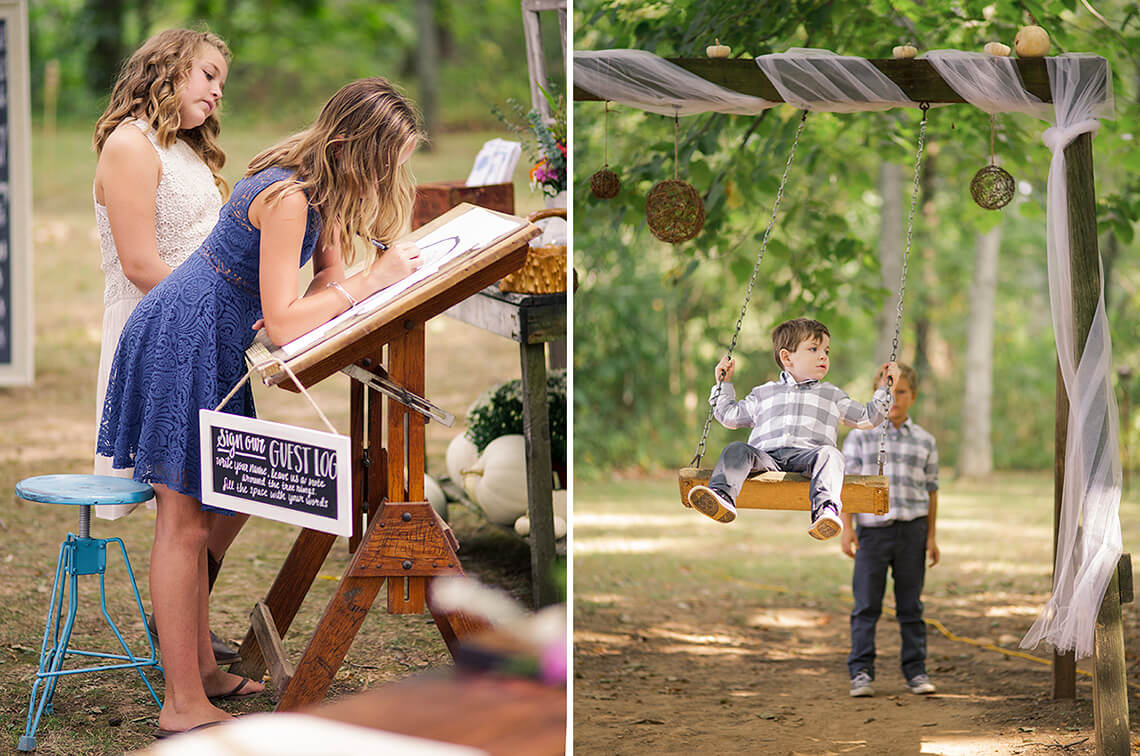 5-Wedding-Photographer-York-PA-Ken-Bruggeman-Children-Signing-Register-Swinging.jpg