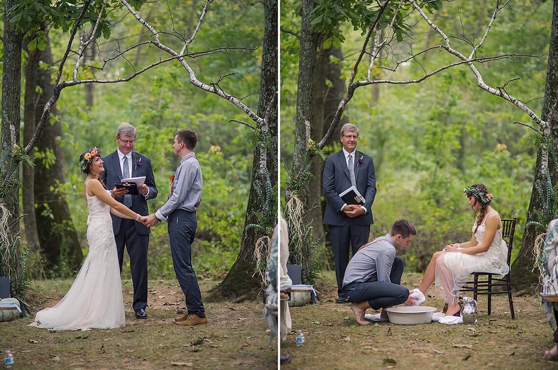19-Wedding-Photographer-York-PA-Ken-Bruggeman-Ceremony-Groom-Washing-Bride-Feet.jpg