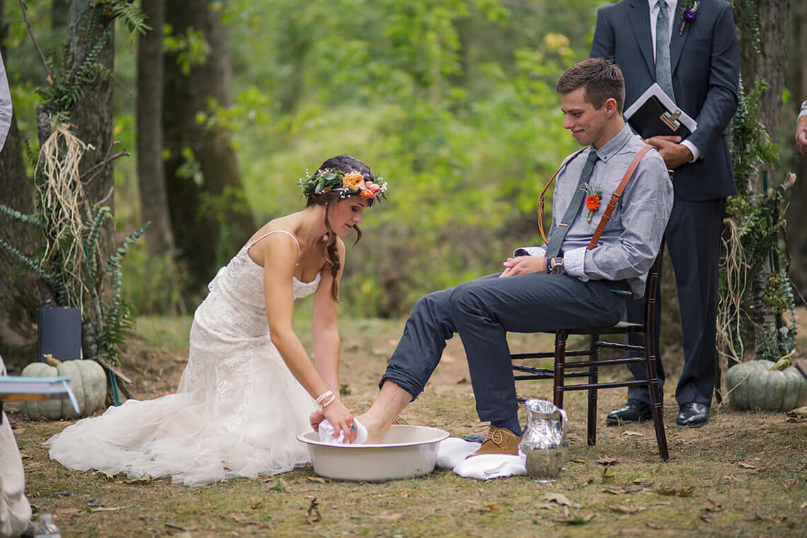 20-Wedding-Photographer-York-PA-Ken-Bruggeman-Ceremony-Bride-Washing-Groom-Feet.jpg