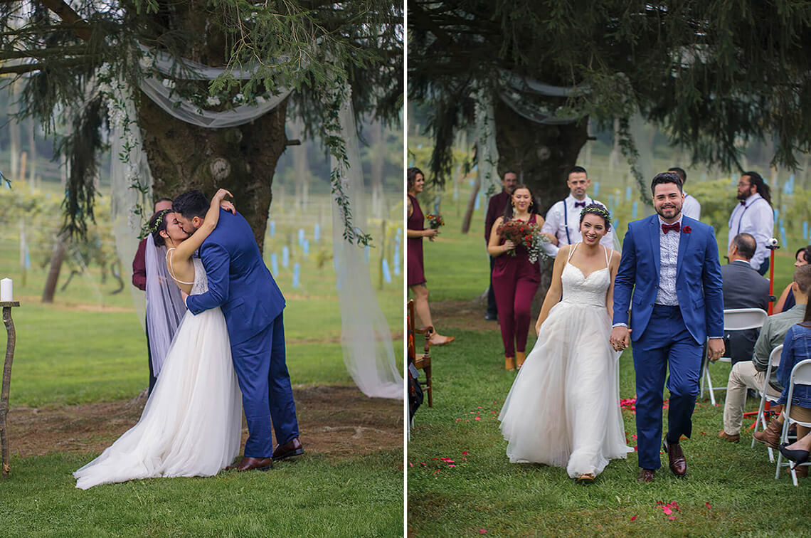 5-Wedding-Photographer-York-PA-Ken Bruggeman-Photography-Bride-Groom-Kiss-Newly-Married.jpg