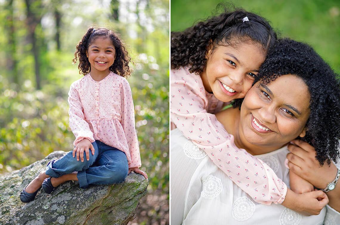 6-Family-Photographer-York_PA-Ken-Bruggeman-Photography-Daughter-Hugging-Mother-Smiling-Sitting-Rock.jpg