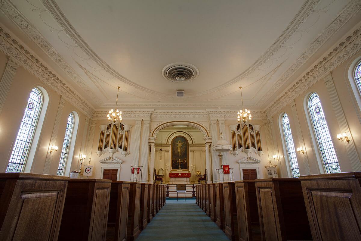 1-Ken-Bruggeman-Photography-York-PA-Commercial-Photographer-Architecture-Church-Christ-Lutheran-Sanctuary-Floor.jpg