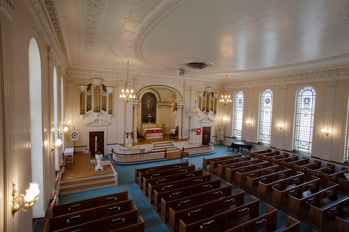 16-Ken-Bruggeman-Photography-York-PA-Commercial-Photographer-Architecture-Church-Christ-Lutheran-Aerial-View-Sanctuary-Left.jpg