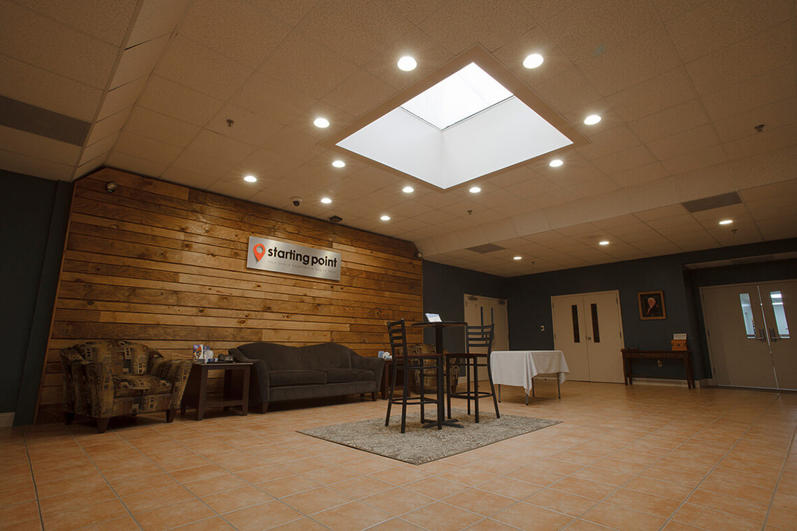 1-Commercial-Architectural-Photographer-York-PA-Ken-Bruggeman-Photography-Grace-Fellowship-New-Salem-Campus-Business-Lobby-Skylight.jpg