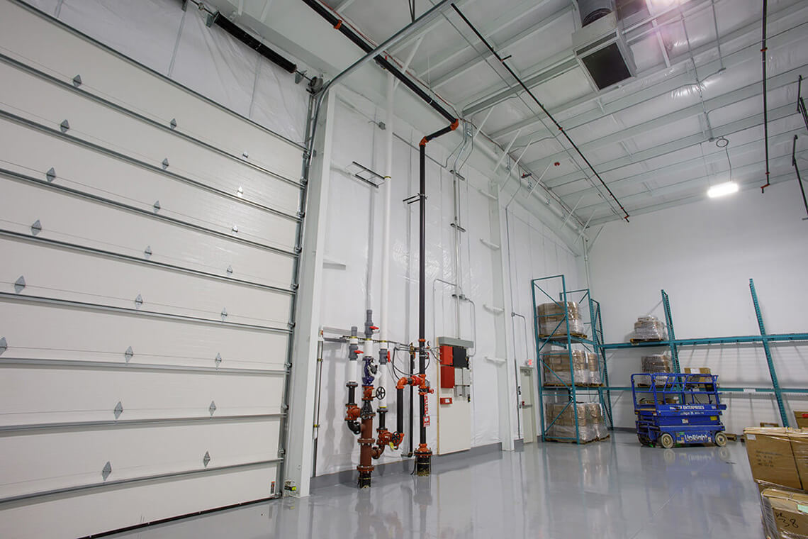 5-Commercial-Architectural-Photographer-York-PA-Ken-Bruggeman-Photography-Richter-Precision-Facility-Loading-Dock-Entrance-Utility-Piping.jpg
