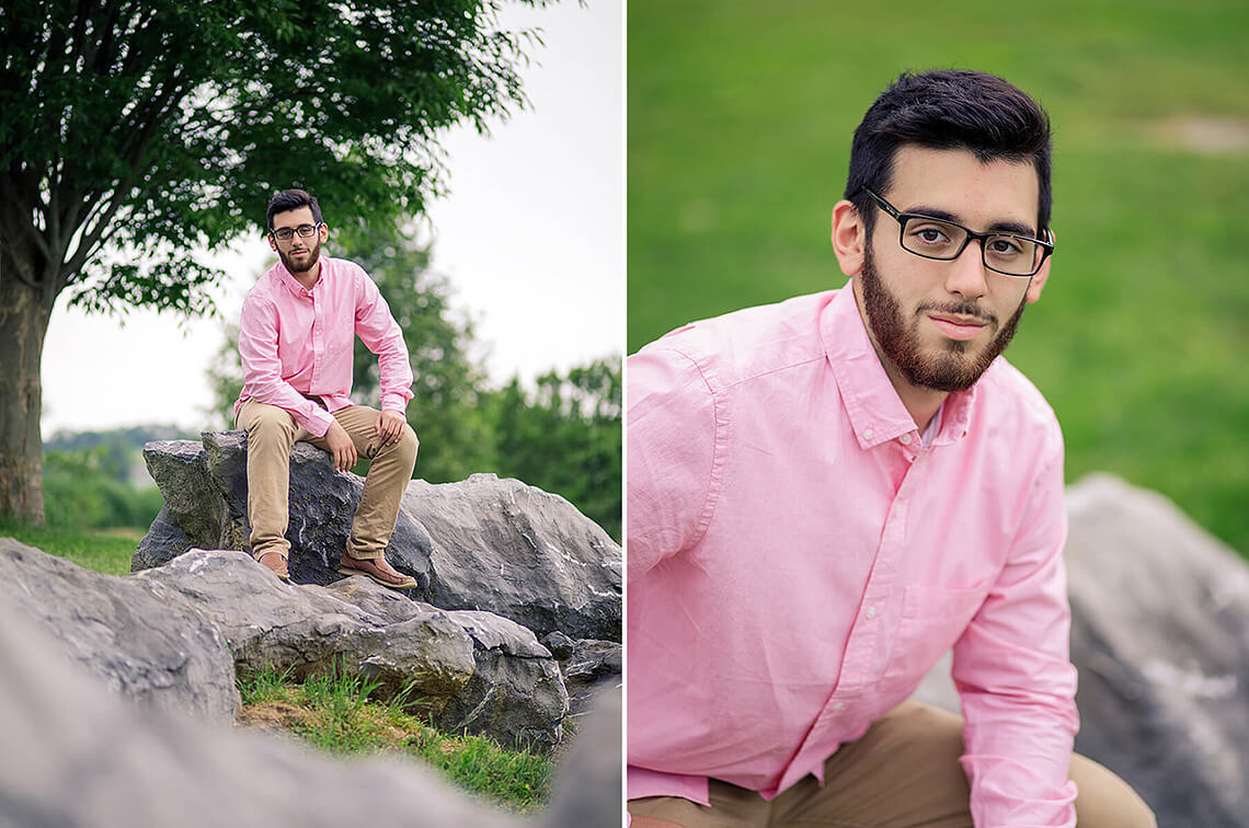 4-Senior-Portrait-Photographer-York-PA-Ken-Bruggeman-Photography-Young-Man-Sitting-Rocks-Under-Tree.jpg