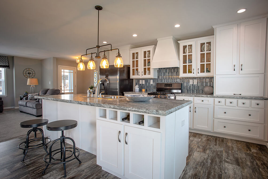 11-Commercial-Photography-Residential-Real-Estate-Interior-Ken-Bruggeman-Photography-York-PA-Pleasant-Valley-Homes-Modern-Country-Kitchen-white-Cabinets-Island-Tile-Backsplash.jpg