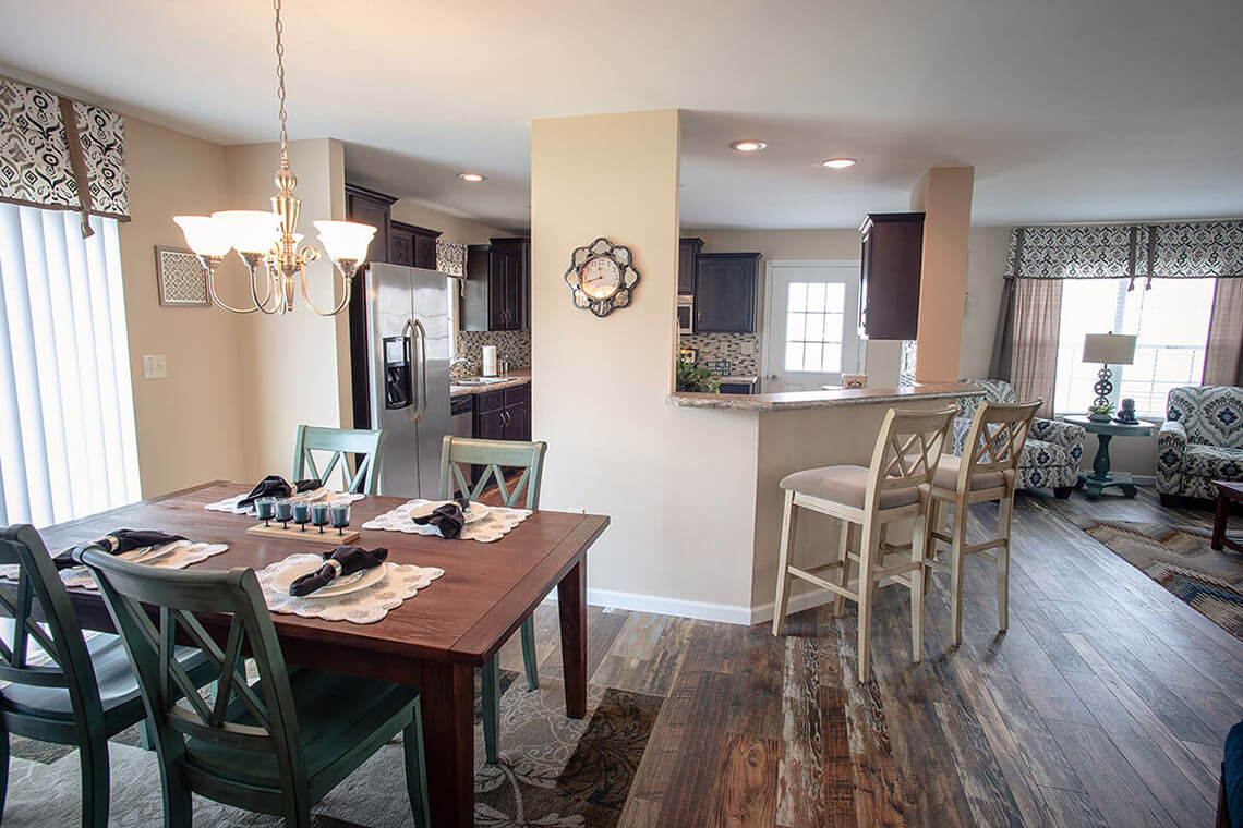 15-Commercial-Photography-Residential-Real-Estate-Interior-Ken-Bruggeman-Photography-York-PA-Pleasant-Valley-Homes-Dining-Room-View-Kitchen-Living-Room.jpg