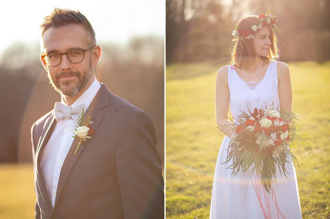 3-Wedding-Photograph-York-PA-Ken-Bruggeman-Photography-Groom-Bride-Standing-Sun-Holding-Flowers.jpg