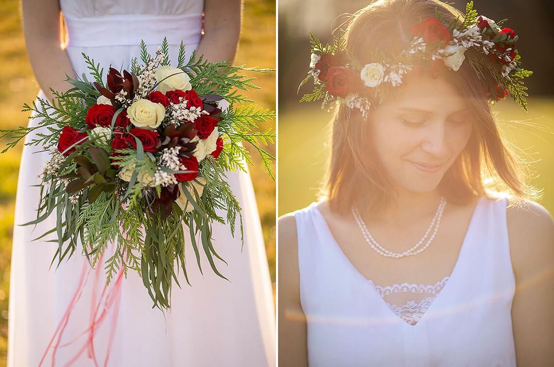 8-Wedding-Photograph-York-PA-Ken-Bruggeman-Photography-Floral-Bouquet-Sunflare-Sunset-Light.jpg