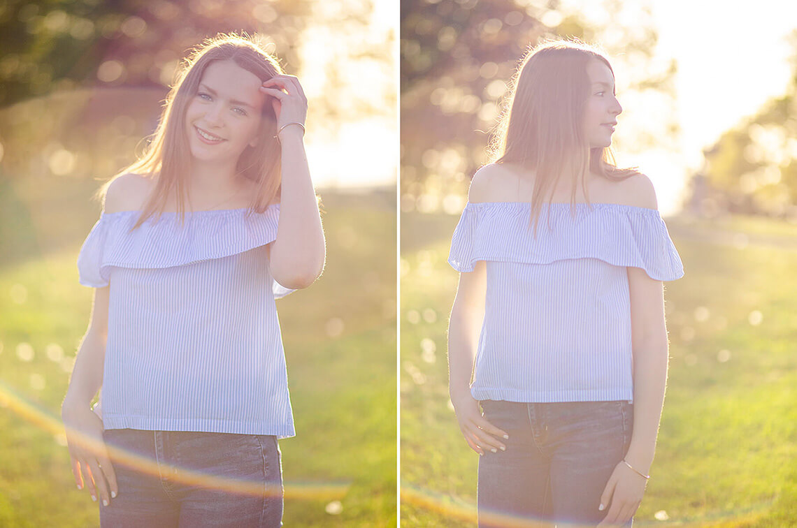 11-Senior-Portrait-Photographer-Near-York-PA-Ken-Bruggeman-Photography-Sunflare-Sunset-Young-Woman-Smiling.jpg