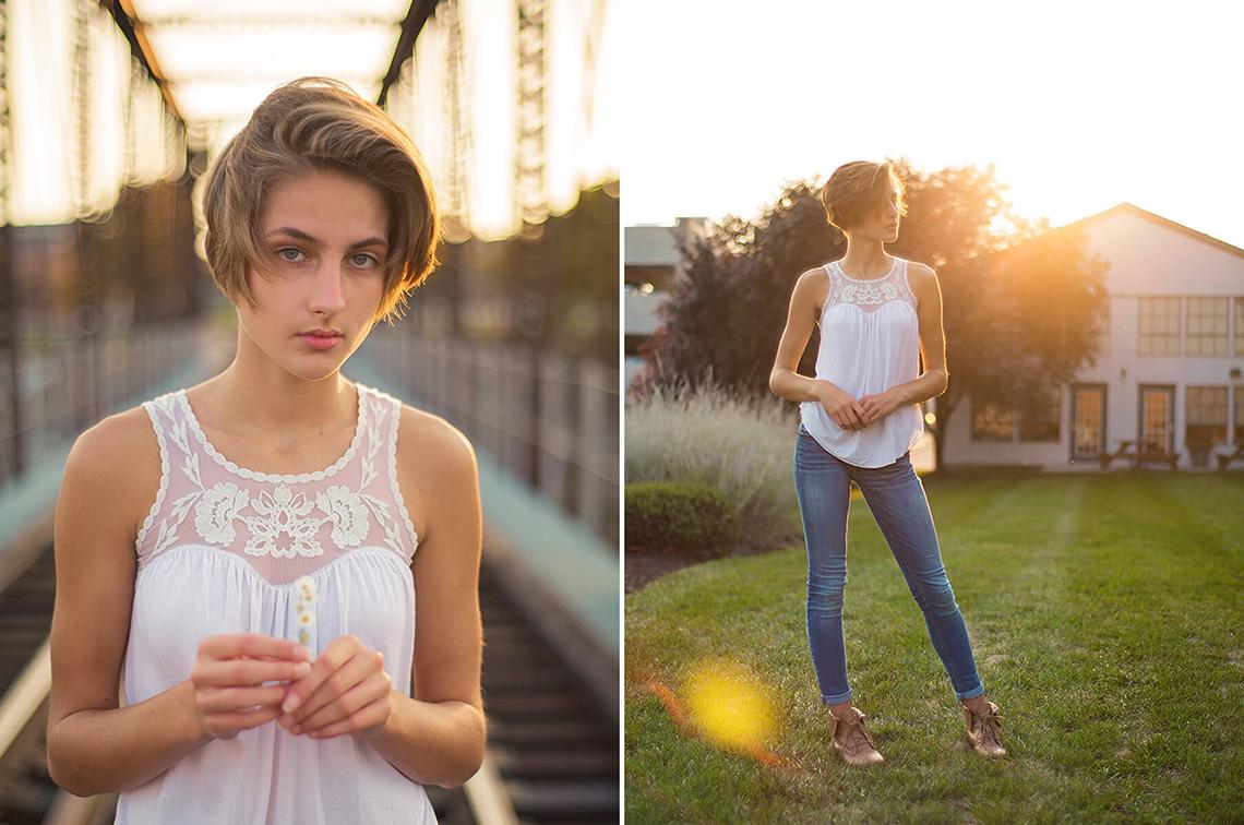 2-York-PA-Senior-Portraits-Ken-Bruggeman-Photography-Girl-Holding-Flowers-On-Train-Tracks.jpg
