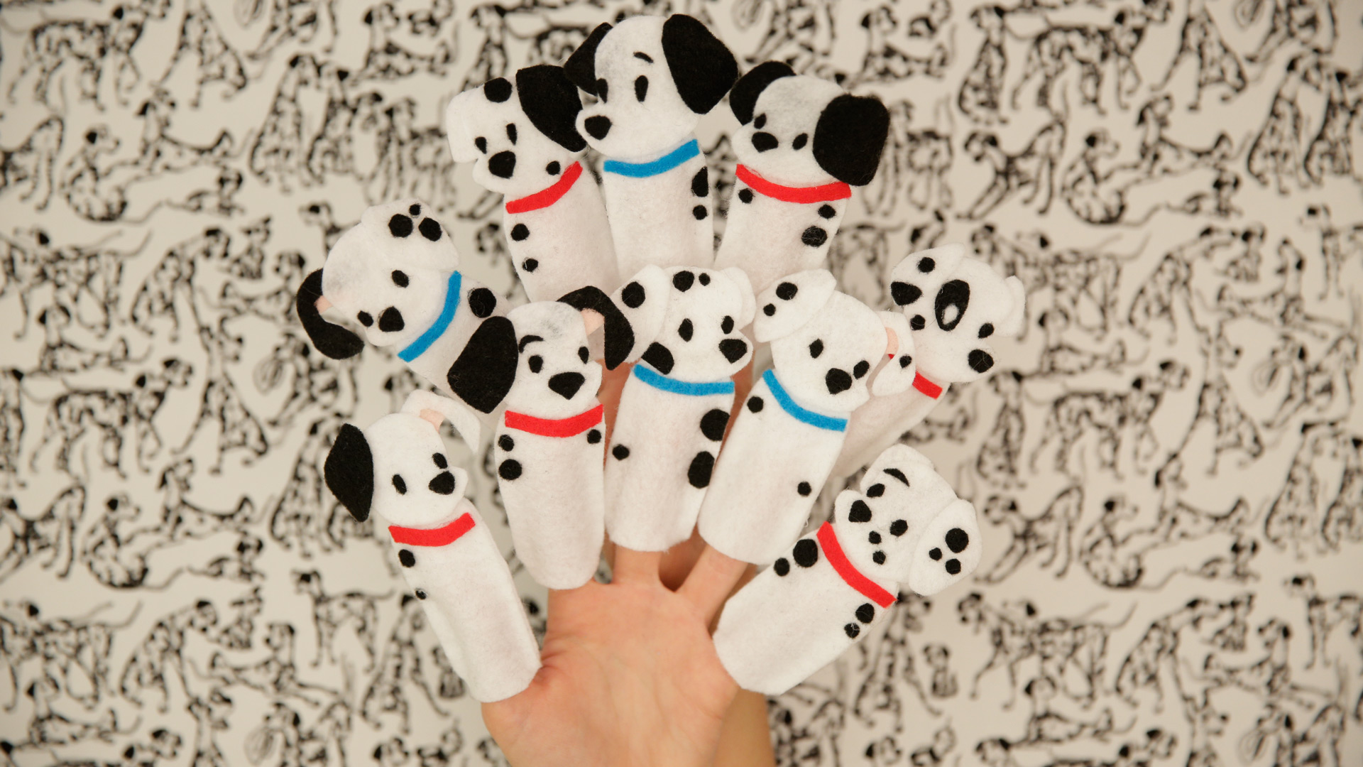 Disney Family: 101 Dalmatians Finger Puppets