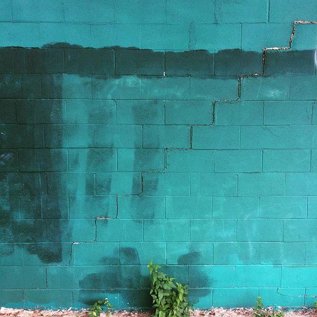 #embracethebuff #graffitiremoval #staybuffed #colorfieldmural #urbanart #buffart #streetart #okcart #okc #art #wabisabi