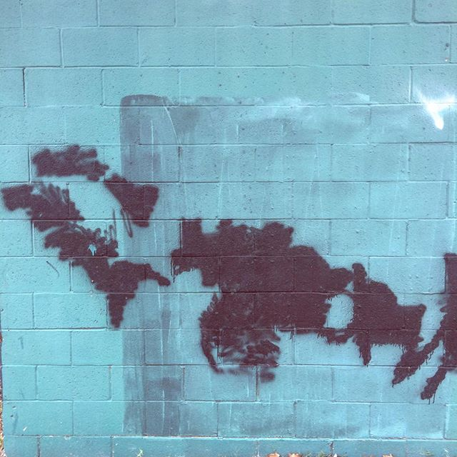 #embracethebuff #graffitiremoval #colorfieldmural #staybuffed #okcart #okc #art #urbanart #buff #buffed #wallswallswalls