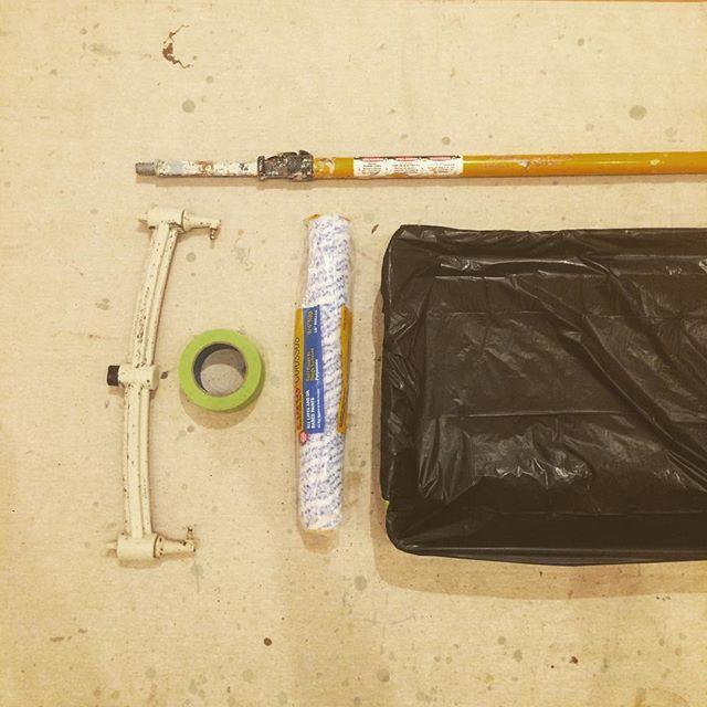 It's about to go down. @oklahomacitymoa #okcmoa #artmuseum #artgallery #painting #prepwork #museumlife