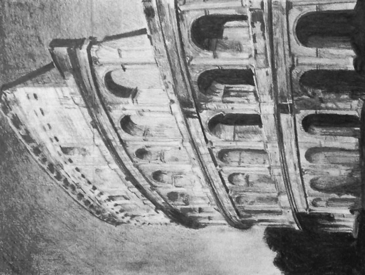 """Coliseum"" by Sam Kaczur 2007"
