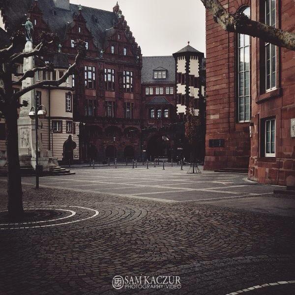 """Frankfurt, Germany"" by Sam Kaczur 2008"