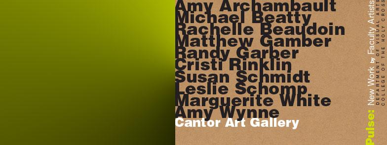 Artist's gallery talk Thursday March 26th at 12noon.                                                                   *****
