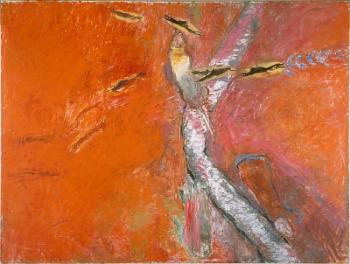 "Rothenberg's 1992 ""Galisteo Creek"""